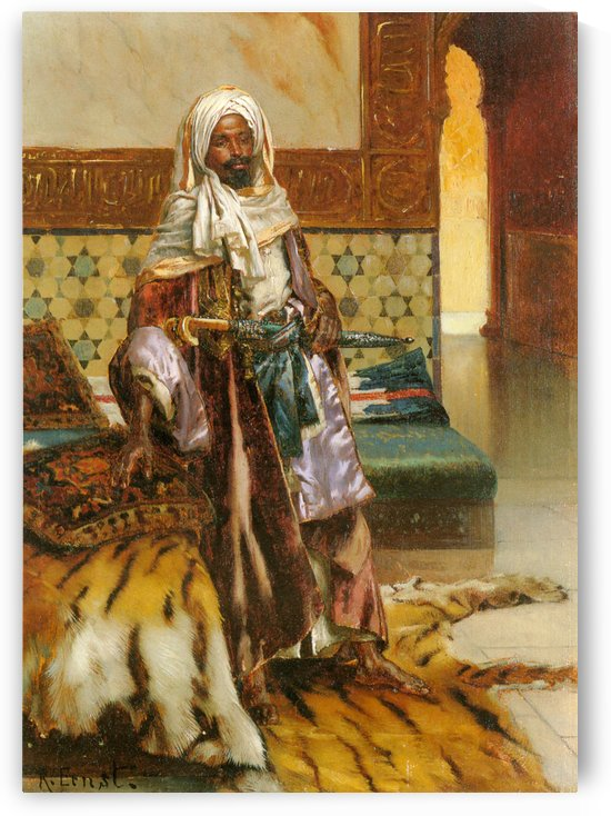 The Arab Prince by Rudolf Ernst