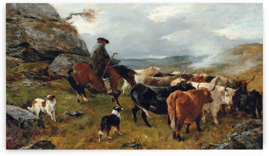 Returning Home by Rudolf Ernst