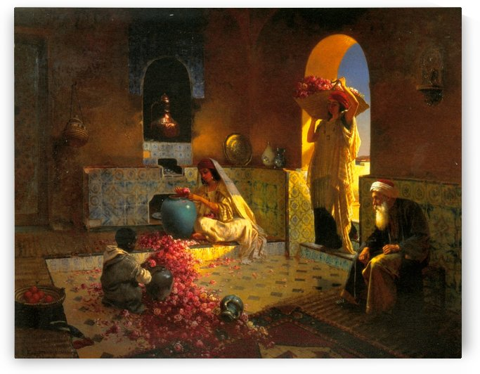 The Perfume Maker by Rudolf Ernst