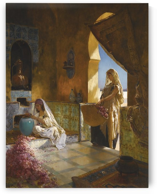 The perfume makers by Rudolf Ernst
