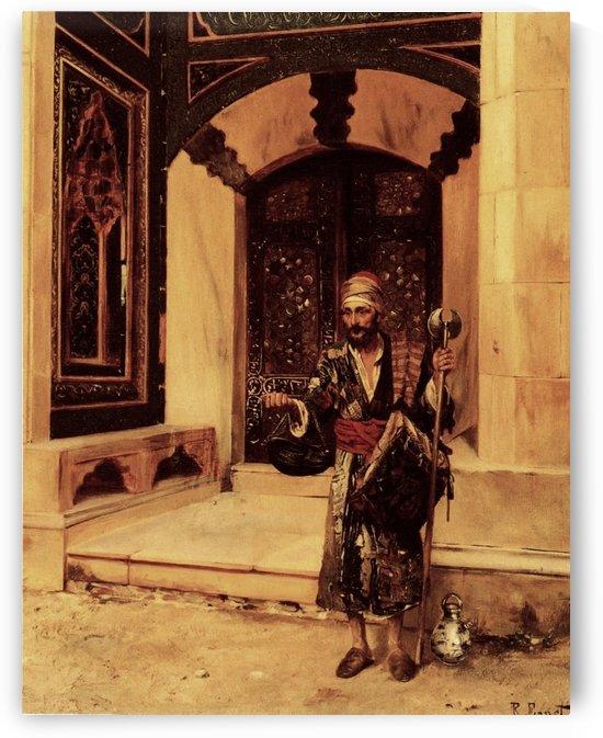 The Beggar by Rudolf Ernst