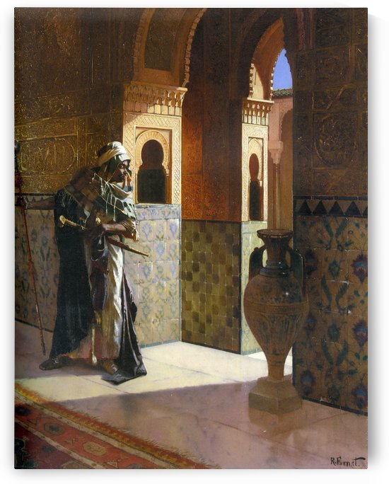 The Moorish Guard by Rudolf Ernst