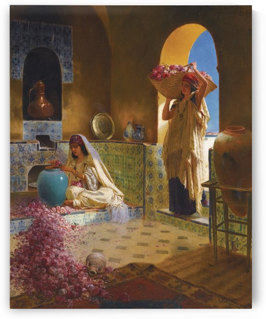 Perfume makers by Rudolf Ernst