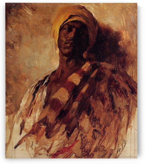 Harem Guard by Rudolf Ernst