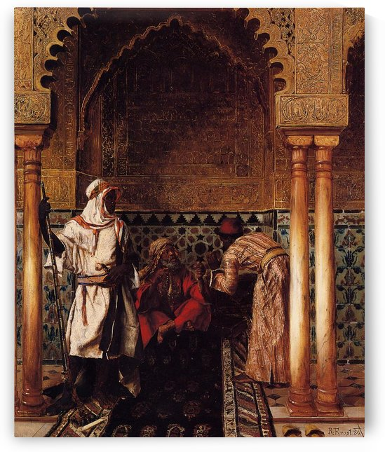 An Arab Sage by Rudolf Ernst