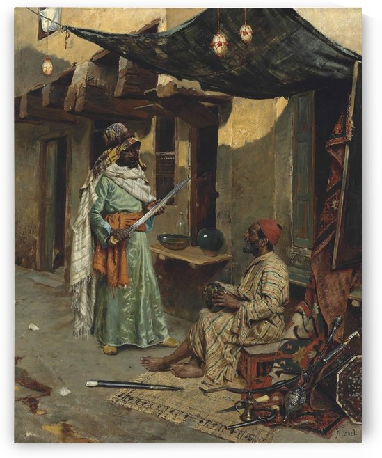 The arms merchant by Rudolf Ernst