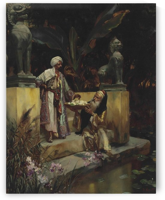 The Lotus of the Sacred Lake by Rudolf Ernst
