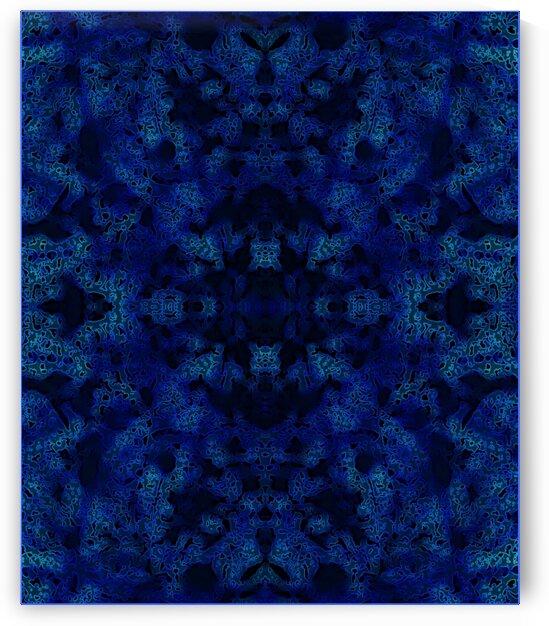 BLUE MANDALA by Tim Glasby