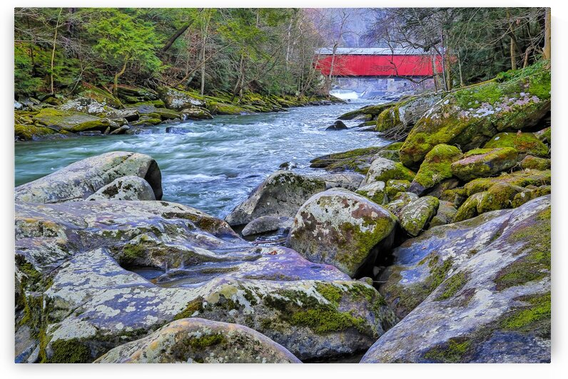 Covered Bridge ap 2149 by Artistic Photography