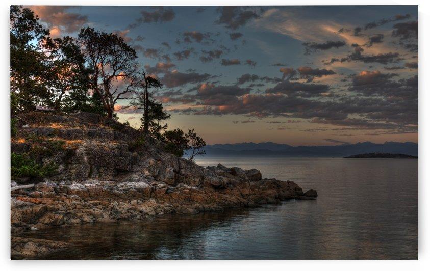 Brickyard Evening by Randy Hall by Randy Hall