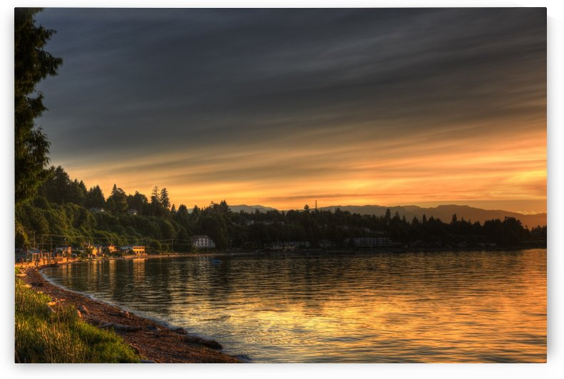 Before Sunset by Randy Hall by Randy Hall