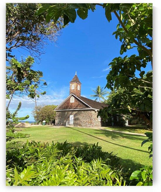 Maui church by Lynn Prudhomme Mills
