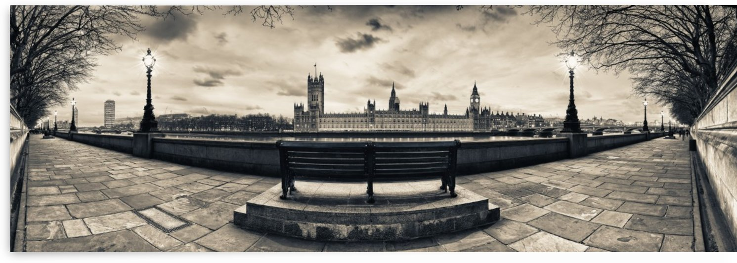Houses of Parliament at Dusk by Adrian Brockwell