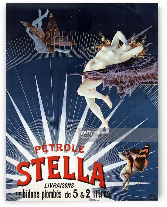 Petrole Stella by VINTAGE POSTER