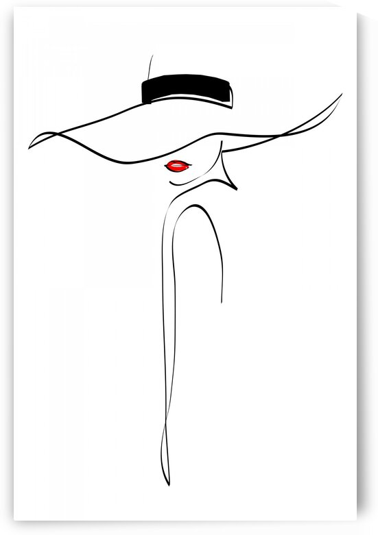 Fashion woman by Aquamarine