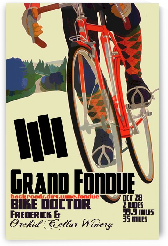 Grand Fondue by VINTAGE POSTER