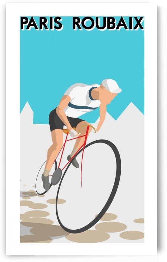 Paris Roubaix by VINTAGE POSTER