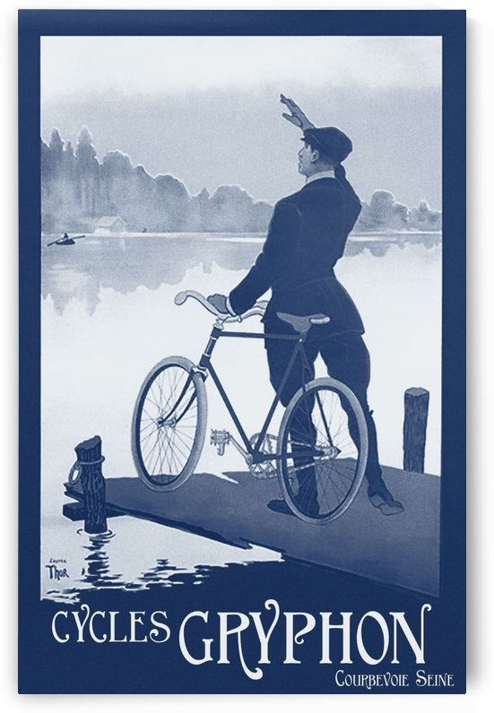 Cycles Gryphon by VINTAGE POSTER