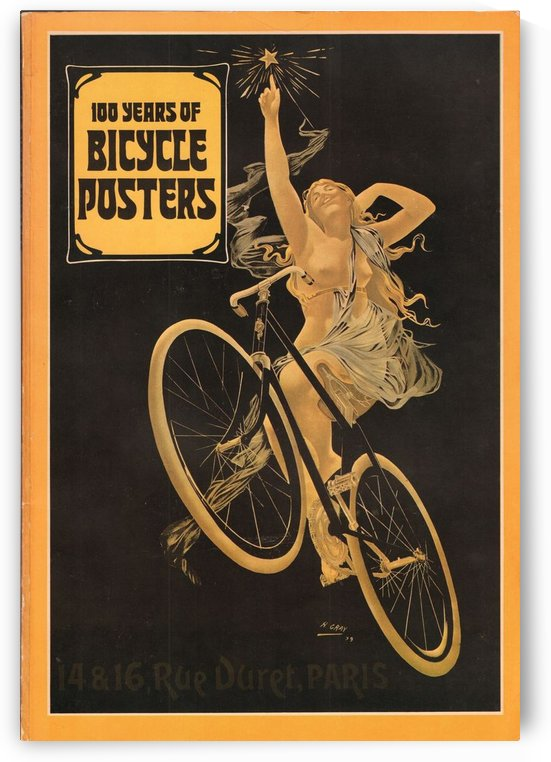 100 years of bicycle posters by VINTAGE POSTER