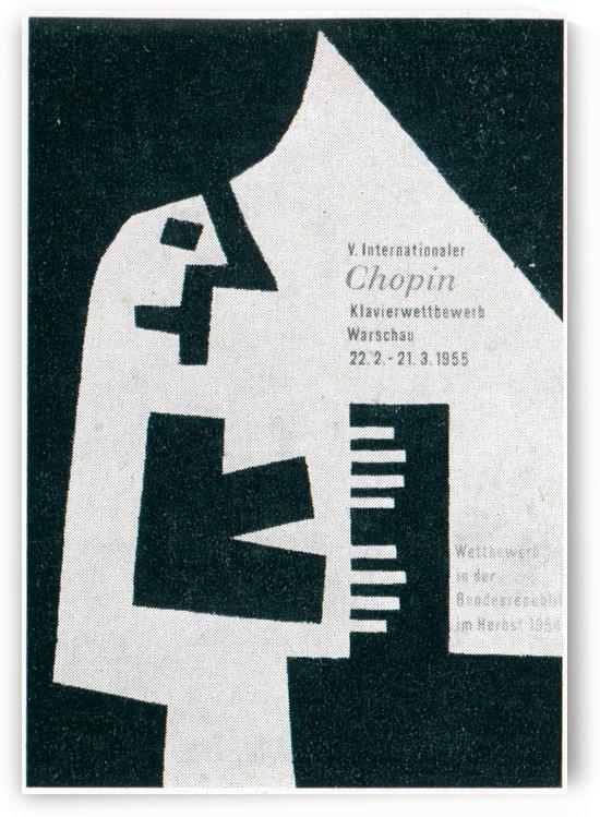 Chopin Warschau by VINTAGE POSTER