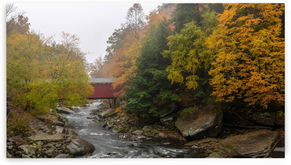 Covered Bridge apmi 1920 by Artistic Photography
