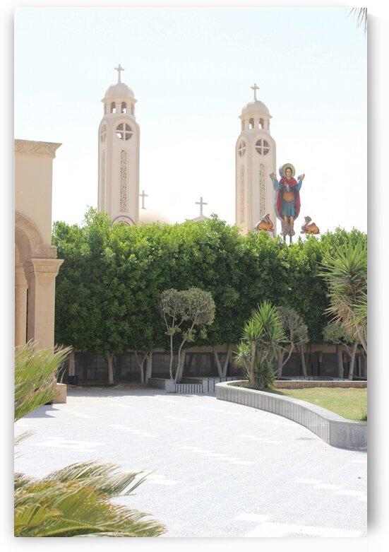 Egypt - Monastery Church by Sara Mikhail