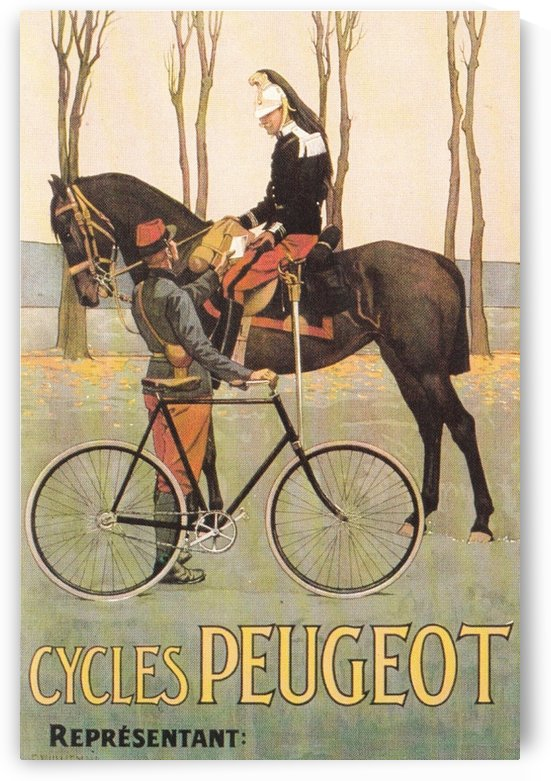 Cycles Peugeot by VINTAGE POSTER