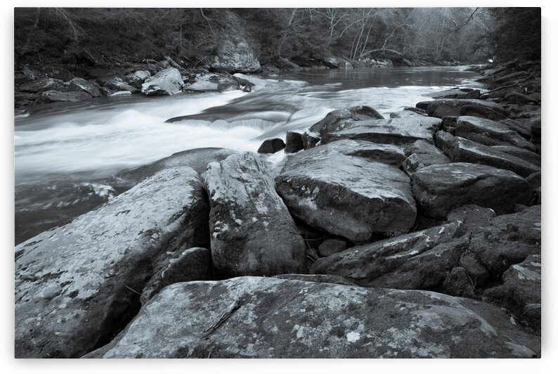 Boulders ap 2150 B&W by Artistic Photography