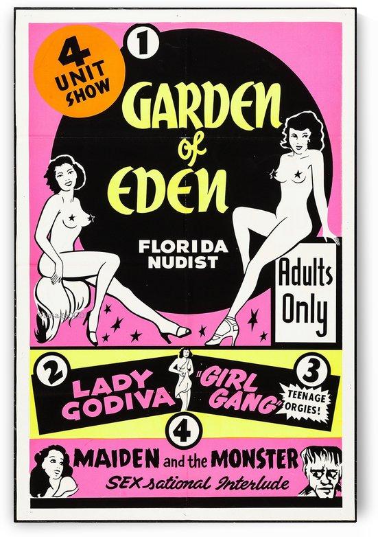 Garden of Eden by VINTAGE POSTER