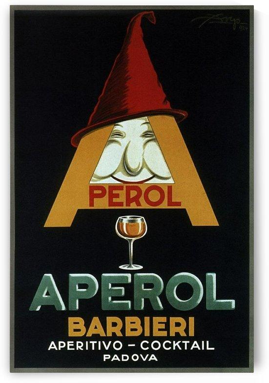 Aperol Barbieri by VINTAGE POSTER