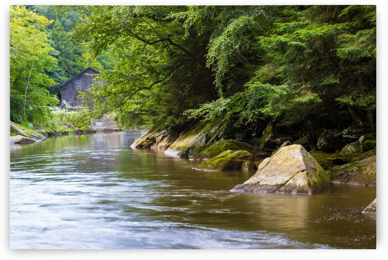 Slippery Rock Creek ap 1944 by Artistic Photography