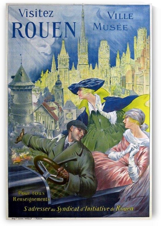 Visitez Rouen by VINTAGE POSTER