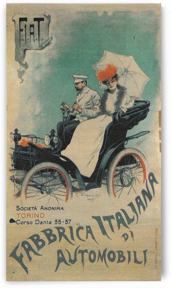 Fabrica italiana di Automobili by VINTAGE POSTER