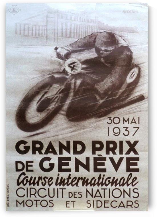 Grand prix de Geneve by VINTAGE POSTER
