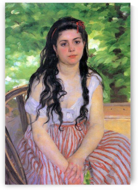 Summertime study by Renoir by Renoir