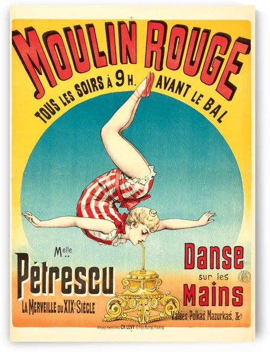 Danse Sur Le Mains by VINTAGE POSTER
