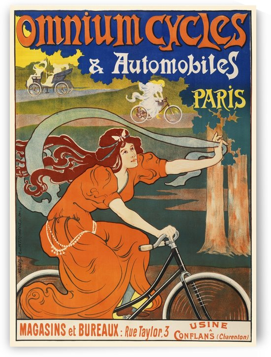 Omnium Cycles by VINTAGE POSTER