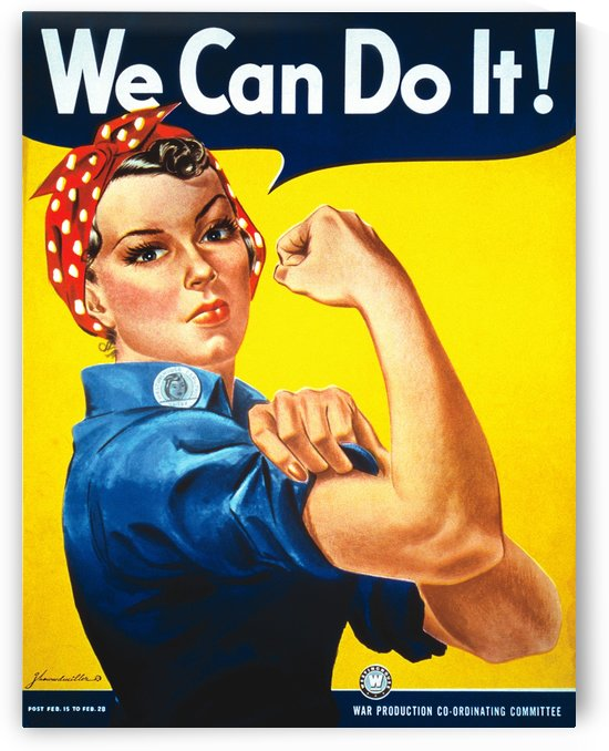 We Can Do It! by VINTAGE POSTER