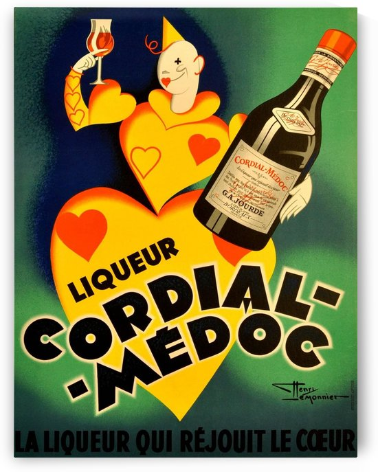 Cordial Medoc by VINTAGE POSTER
