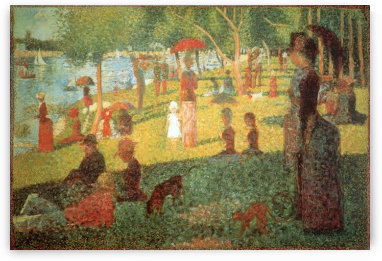 Sunday Afternoon by Seurat by Seurat