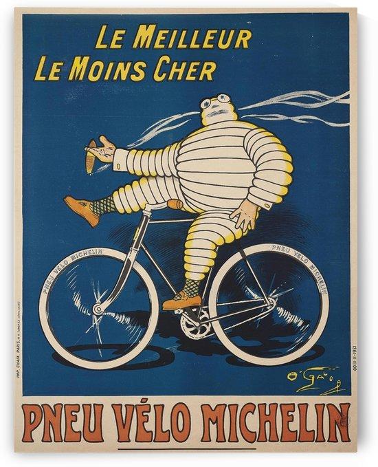Pneu Velo Michelin by VINTAGE POSTER