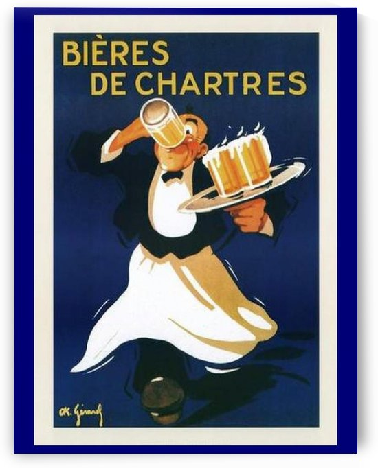 Bieres de Chartes by VINTAGE POSTER