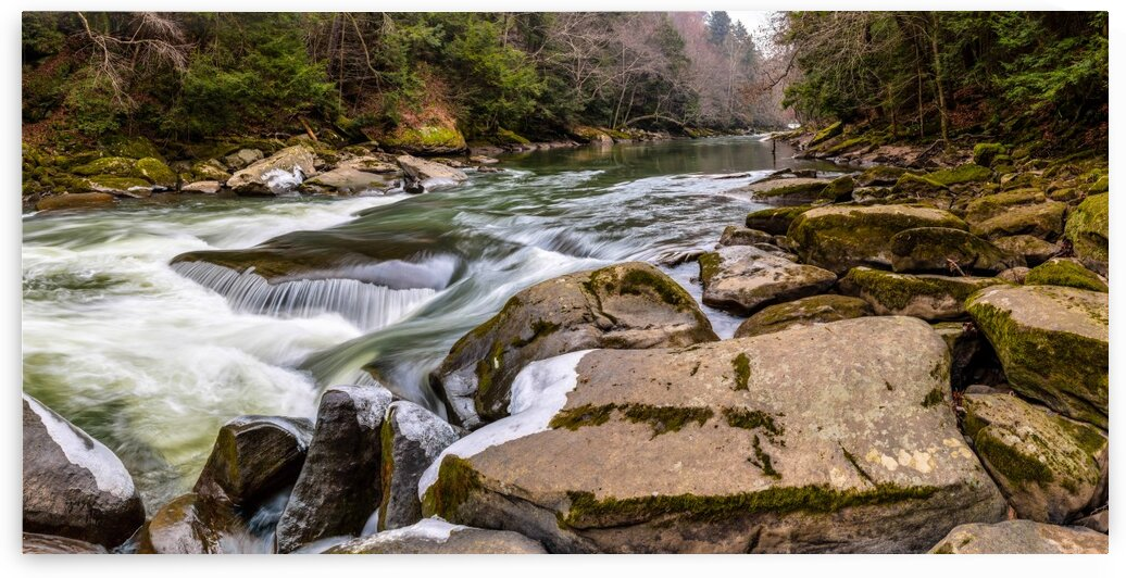 Slippery Rock Creek apmi 1746 by Artistic Photography