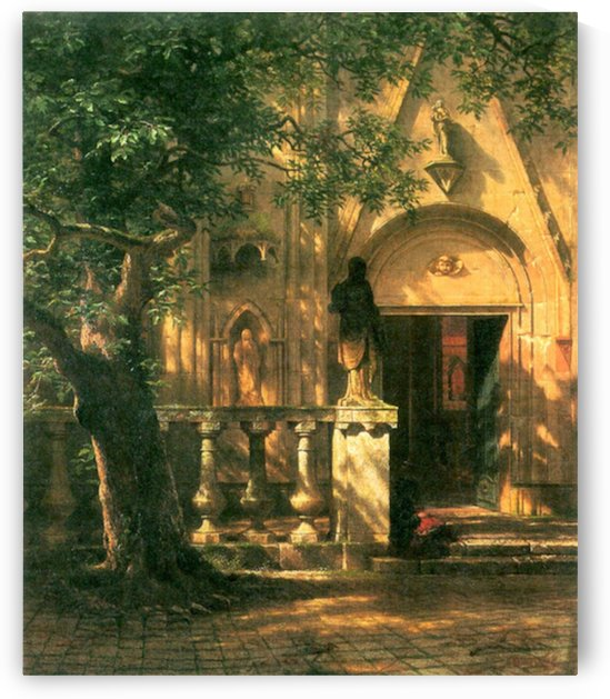 Sunlight and Shadow 2 by Bierstadt by Bierstadt