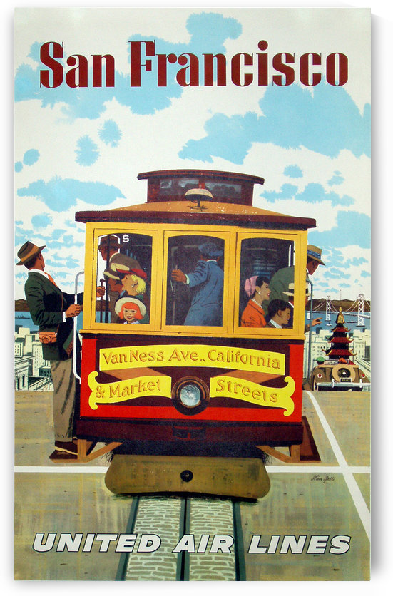 San Francisco Poster by VINTAGE POSTER