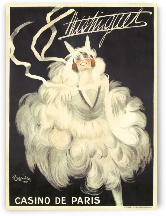 Mistinguett by VINTAGE POSTER