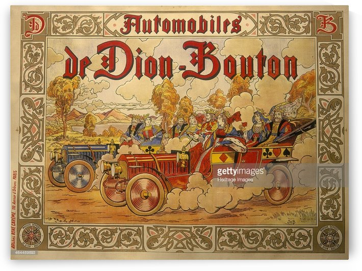 Dion Bouton by VINTAGE POSTER