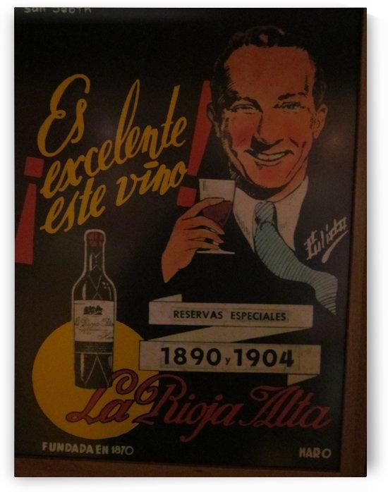 Es excelente vino by VINTAGE POSTER