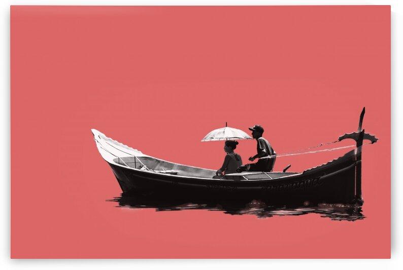 Boat - XCVII by Carlos Wood
