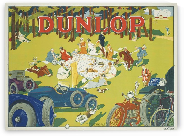 Dunlop by VINTAGE POSTER
